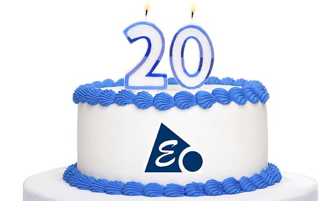 ¡ Cumplimos 20 años !